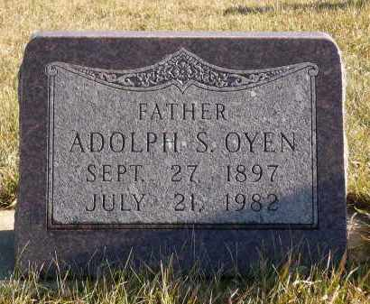 OYEN, ADOLPH S. - Minnehaha County, South Dakota | ADOLPH S. OYEN - South Dakota Gravestone Photos