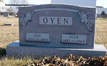 OYEN, IVER - Minnehaha County, South Dakota   IVER OYEN - South Dakota Gravestone Photos