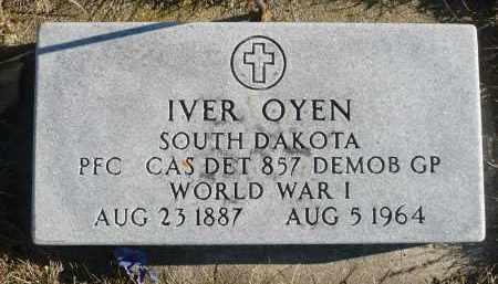 OYEN, IVER - Minnehaha County, South Dakota | IVER OYEN - South Dakota Gravestone Photos