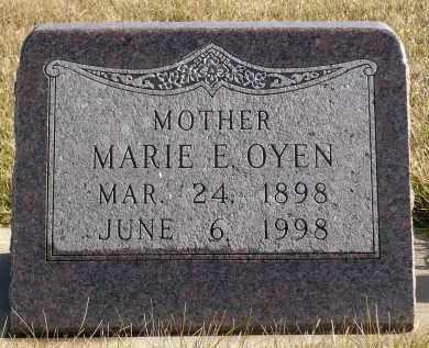OYEN, MARIE E. - Minnehaha County, South Dakota | MARIE E. OYEN - South Dakota Gravestone Photos