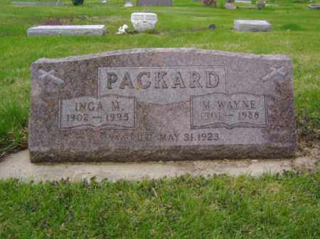 PACKARD, INGA M. - Minnehaha County, South Dakota | INGA M. PACKARD - South Dakota Gravestone Photos