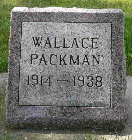 PACKMAN, WALLACE VERN - Minnehaha County, South Dakota | WALLACE VERN PACKMAN - South Dakota Gravestone Photos
