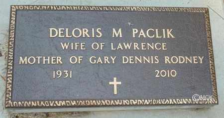PACLIK, DELORIS M. - Minnehaha County, South Dakota | DELORIS M. PACLIK - South Dakota Gravestone Photos