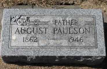 PAULSON, AUGUST - Minnehaha County, South Dakota | AUGUST PAULSON - South Dakota Gravestone Photos