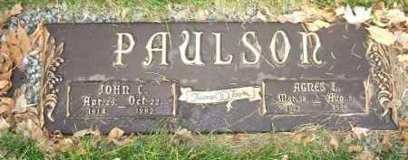 PAULSON, JOHN C. - Minnehaha County, South Dakota   JOHN C. PAULSON - South Dakota Gravestone Photos