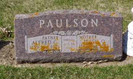 PAULSON, ALDRED G. - Minnehaha County, South Dakota | ALDRED G. PAULSON - South Dakota Gravestone Photos