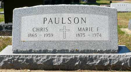 PAULSON, MARIE F. - Minnehaha County, South Dakota | MARIE F. PAULSON - South Dakota Gravestone Photos