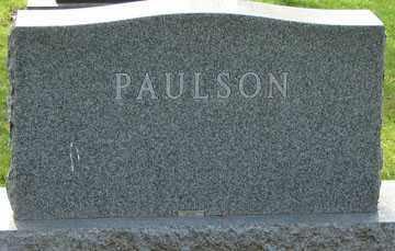 PAULSON, FAMILY MARKER - Minnehaha County, South Dakota | FAMILY MARKER PAULSON - South Dakota Gravestone Photos