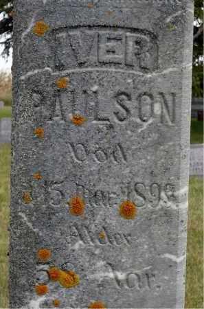 PAULSON, IVER - Minnehaha County, South Dakota   IVER PAULSON - South Dakota Gravestone Photos