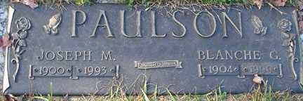 PAULSON, BLANCHE G. - Minnehaha County, South Dakota | BLANCHE G. PAULSON - South Dakota Gravestone Photos