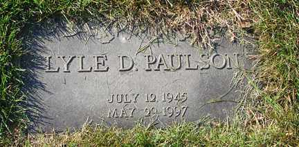 PAULSON, LYLE D. - Minnehaha County, South Dakota | LYLE D. PAULSON - South Dakota Gravestone Photos