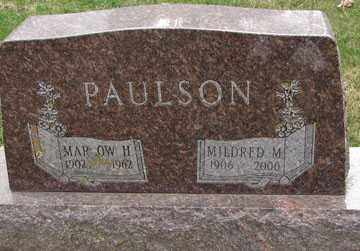 PAULSON, MARROW H. - Minnehaha County, South Dakota | MARROW H. PAULSON - South Dakota Gravestone Photos