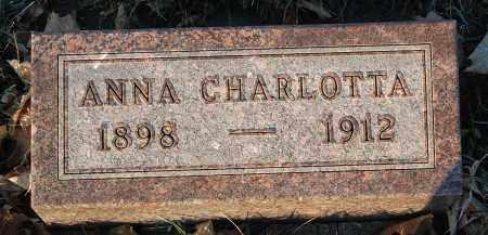 PEARSON, ANNA CHARLOTTA - Minnehaha County, South Dakota   ANNA CHARLOTTA PEARSON - South Dakota Gravestone Photos