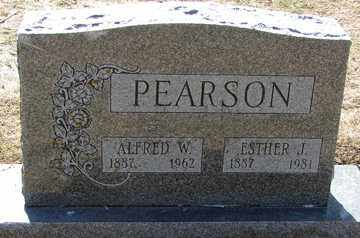 PEARSON, ALFRED W. - Minnehaha County, South Dakota | ALFRED W. PEARSON - South Dakota Gravestone Photos