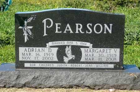 PEARSON, MARGARET VAUGHAN - Minnehaha County, South Dakota | MARGARET VAUGHAN PEARSON - South Dakota Gravestone Photos