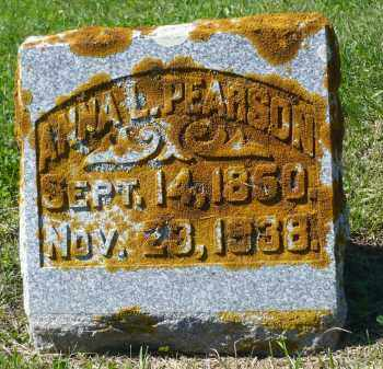 PEARSON, ANNA L. - Minnehaha County, South Dakota   ANNA L. PEARSON - South Dakota Gravestone Photos