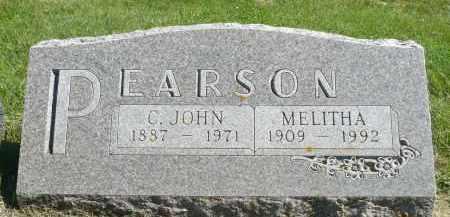PEARSON, MELITHA - Minnehaha County, South Dakota | MELITHA PEARSON - South Dakota Gravestone Photos