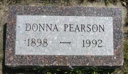 PEARSON, DONNA - Minnehaha County, South Dakota | DONNA PEARSON - South Dakota Gravestone Photos