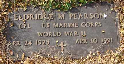 PEARSON, ELDRIDGE M. - Minnehaha County, South Dakota   ELDRIDGE M. PEARSON - South Dakota Gravestone Photos