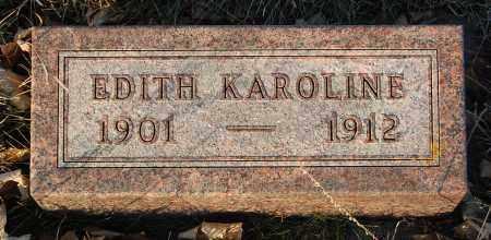 PEARSON, EDITH KAROLINE - Minnehaha County, South Dakota   EDITH KAROLINE PEARSON - South Dakota Gravestone Photos