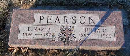 PEARSON, EINAR J. - Minnehaha County, South Dakota | EINAR J. PEARSON - South Dakota Gravestone Photos