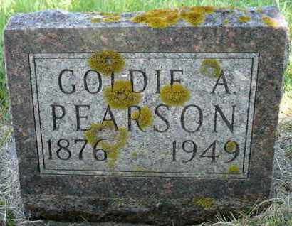 PEARSON, GOLDIE A. - Minnehaha County, South Dakota | GOLDIE A. PEARSON - South Dakota Gravestone Photos