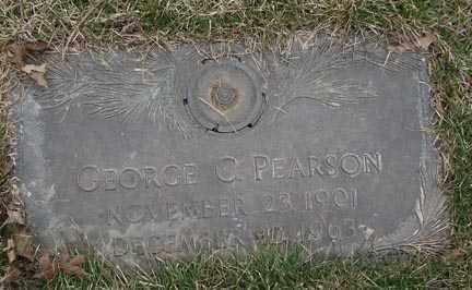 PEARSON, GEORGE C. - Minnehaha County, South Dakota   GEORGE C. PEARSON - South Dakota Gravestone Photos