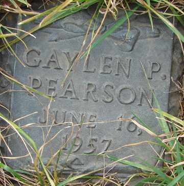 PEARSON, GAYLEN P. - Minnehaha County, South Dakota | GAYLEN P. PEARSON - South Dakota Gravestone Photos