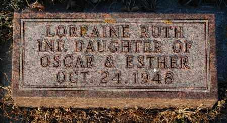 PEARSON, LORRAINE RUTH - Minnehaha County, South Dakota   LORRAINE RUTH PEARSON - South Dakota Gravestone Photos