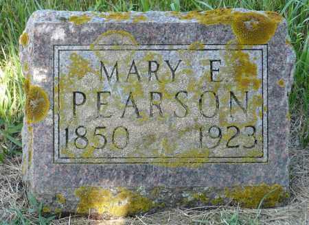 PEARSON, MARY E. - Minnehaha County, South Dakota | MARY E. PEARSON - South Dakota Gravestone Photos