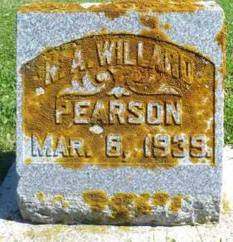 PEARSON, N.A. WILLARD - Minnehaha County, South Dakota | N.A. WILLARD PEARSON - South Dakota Gravestone Photos