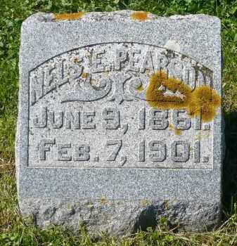 PEARSON, NELS E. - Minnehaha County, South Dakota   NELS E. PEARSON - South Dakota Gravestone Photos