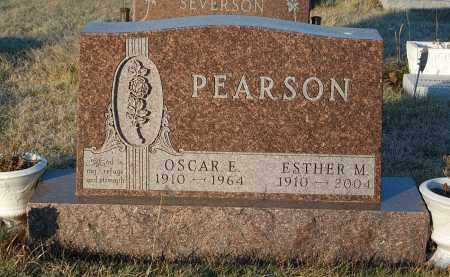 PEARSON, OSCAR E. - Minnehaha County, South Dakota | OSCAR E. PEARSON - South Dakota Gravestone Photos