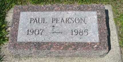PEARSON, PAUL - Minnehaha County, South Dakota   PAUL PEARSON - South Dakota Gravestone Photos