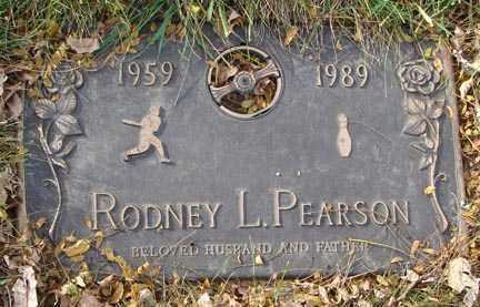 PEARSON, RODNEY L. - Minnehaha County, South Dakota   RODNEY L. PEARSON - South Dakota Gravestone Photos