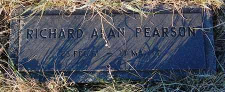 PEARSON, RICHARD ALAN - Minnehaha County, South Dakota | RICHARD ALAN PEARSON - South Dakota Gravestone Photos