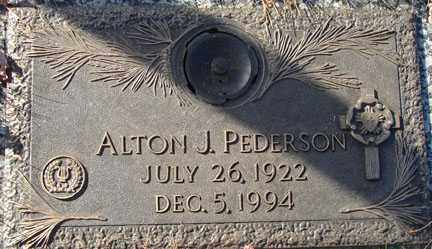 PEDERSON, ALTON J. - Minnehaha County, South Dakota | ALTON J. PEDERSON - South Dakota Gravestone Photos