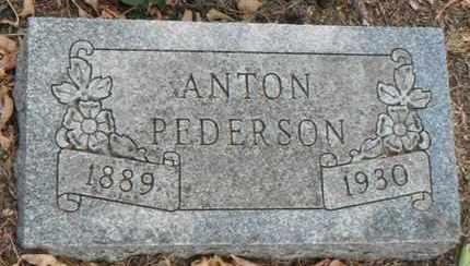PEDERSON, ANTON - Minnehaha County, South Dakota | ANTON PEDERSON - South Dakota Gravestone Photos