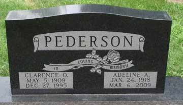 PEDERSON, CLARENCE O. - Minnehaha County, South Dakota | CLARENCE O. PEDERSON - South Dakota Gravestone Photos
