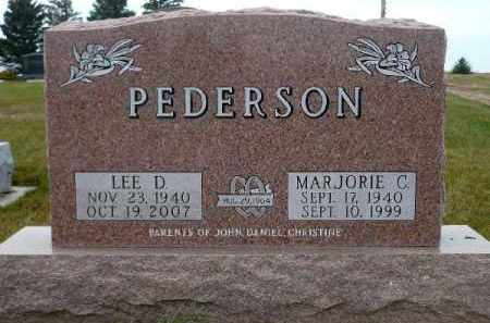 PEDERSON, MARJORIE C. - Minnehaha County, South Dakota | MARJORIE C. PEDERSON - South Dakota Gravestone Photos