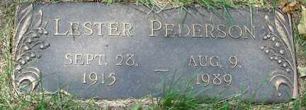 PEDERSON, LESTER - Minnehaha County, South Dakota   LESTER PEDERSON - South Dakota Gravestone Photos