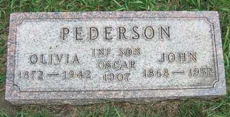 PEDERSON, OLIVIA - Minnehaha County, South Dakota | OLIVIA PEDERSON - South Dakota Gravestone Photos