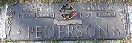 PEDERSON, PALMER M. - Minnehaha County, South Dakota | PALMER M. PEDERSON - South Dakota Gravestone Photos