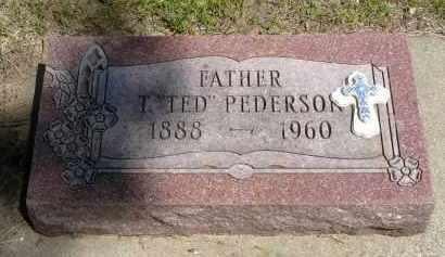 "PEDERSON, T. ""TED"" - Minnehaha County, South Dakota | T. ""TED"" PEDERSON - South Dakota Gravestone Photos"