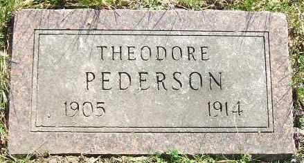 PEDERSON, THEODORE - Minnehaha County, South Dakota | THEODORE PEDERSON - South Dakota Gravestone Photos
