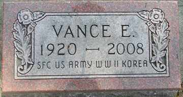 PENNEY, VANCE E. (WWII) - Minnehaha County, South Dakota | VANCE E. (WWII) PENNEY - South Dakota Gravestone Photos