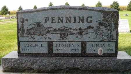 PENNING, LOREN L. - Minnehaha County, South Dakota | LOREN L. PENNING - South Dakota Gravestone Photos