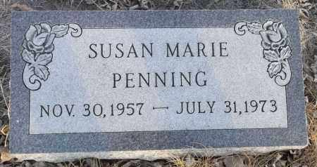 PENNING, SUSAN MARIE - Minnehaha County, South Dakota | SUSAN MARIE PENNING - South Dakota Gravestone Photos