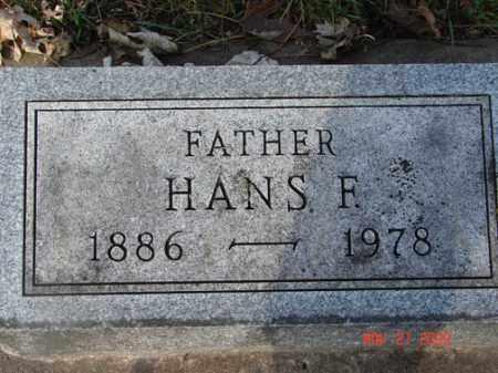 PERRENOUD, HANS F. - Minnehaha County, South Dakota | HANS F. PERRENOUD - South Dakota Gravestone Photos