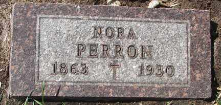 PERRON, NORA - Minnehaha County, South Dakota | NORA PERRON - South Dakota Gravestone Photos
